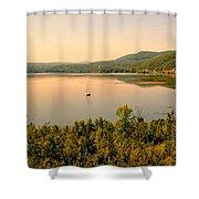Champlain Viewed From Ticonderoga Shower Curtain