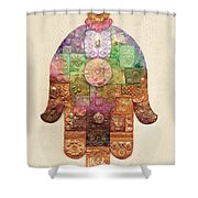 Chamsa Shower Curtain