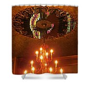 Chandelier At The Brown Palace In Denver Shower Curtain