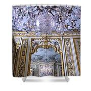 Chandelier Inside Chateau De Chantilly Shower Curtain