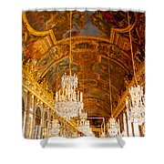 Chandeliers And Ceiling Of Versailles Shower Curtain