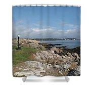 Chandler Hovey Park Marblehead Massachusetts Shower Curtain