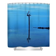 Chanel Marker Reflection 5 12/5 Shower Curtain