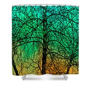 Change Of Seasons Number Tw0 Shower Curtain