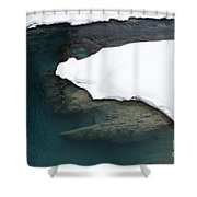 Changing Course Shower Curtain
