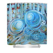 Changing Energies Shower Curtain