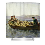 Changing Of Meadow Shower Curtain