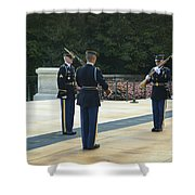 Changing Of The Guard Shower Curtain