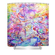 Changing The Atmosphere Shower Curtain