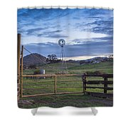 Changing With The Wind Shower Curtain