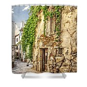 Chania Old Street Shower Curtain