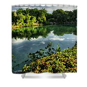 Chankanaab Mexico Lagoon Shower Curtain