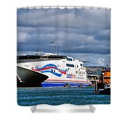 Channel Islands Ferry Shower Curtain