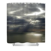 Channel Sunburst Shower Curtain
