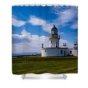 Chanonry Point Lighthouse Shower Curtain
