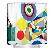 Chaordicolors Limited Edition 1 Of 1 Shower Curtain