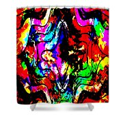 Chaos In My Mind Shower Curtain