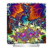 Chaos Of Unrealized Ideas Shower Curtain