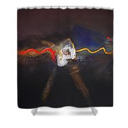 Chaos Ride Shower Curtain