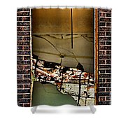 Chaotic Classroom Shower Curtain