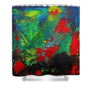 Chaotic Hope Shower Curtain