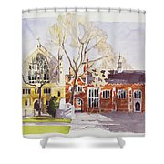 Chapel And Hall  Lincoln's Inn Shower Curtain