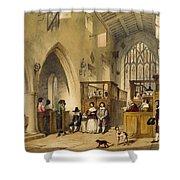 Chapel At Haddon Hall, Derbyshire Shower Curtain