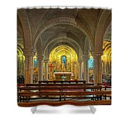Chapel At Notre Dame Cathedral Verdun Shower Curtain