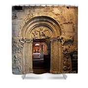 Chapel Entrance Shower Curtain