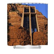 Chapel In The Rock Shower Curtain