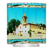 Chapel In The Sun Shower Curtain