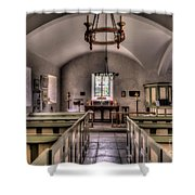 Chapel In Wales Shower Curtain