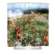 Chapel Of Colors Shower Curtain