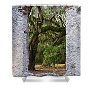 Chapel Of Ease Shower Curtain