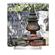 Chapel Of Ease St Helena Island Shower Curtain