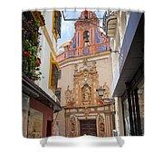 Chapel Of St. Joseph Of Seville Shower Curtain by Artur Bogacki