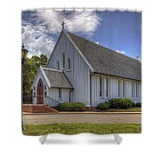 Chapel Of The Centurion Shower Curtain