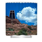 Chapel Of The Holy Cross In Sedona Shower Curtain