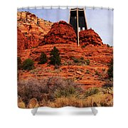 Chapel Of The Holy Cross 3 Shower Curtain
