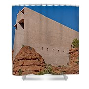 Chapel Of The Holy Cross Sedona Az Side Shower Curtain