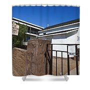 Chapel Of The Immaculate Conception Old Town San Diego Shower Curtain