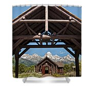 Chapel Of The Transfiguration Shower Curtain