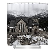 Chapel On The Rock - 3 Shower Curtain