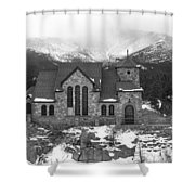 Chapel On The Rock - 5 Shower Curtain