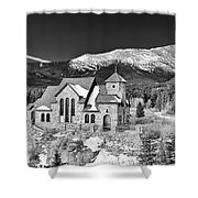 Chapel On The Rock Shower Curtain