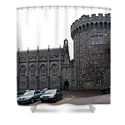 Chapel Royal And Record Tower - Dublin Castle Shower Curtain