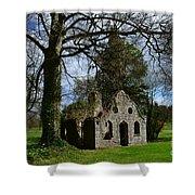 Chapel Ruins Shower Curtain