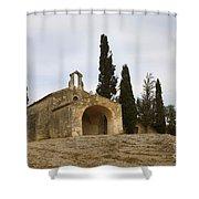 Chapelle Saint Sixte Shower Curtain