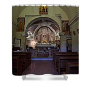 Chappel At Sirmione. Lago Di Garda Shower Curtain