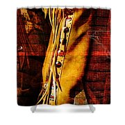 Chaps And Boots Shower Curtain